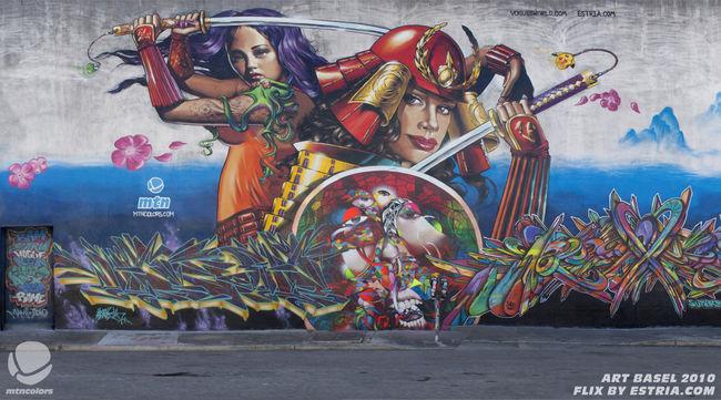 Fresques Par Apex, Vogue, Chor Boogie, Neon, Estria, Bam - San Francisco (CA)