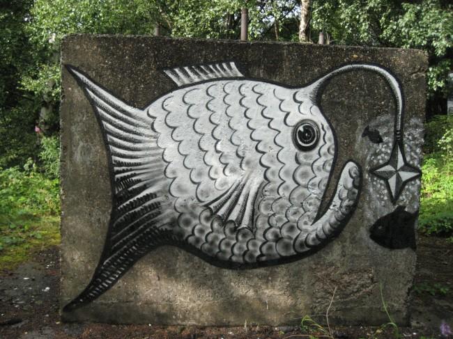 Street Art Par Phlegm - Sheffield (Royaume Uni)