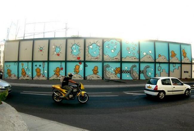 Street Art By Jace - Saint-Andre (Reunion)