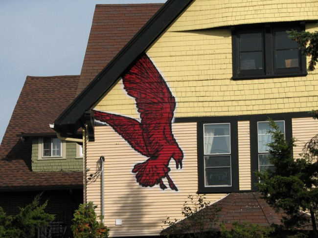 Street Art Par Broken Crow - Milwaukee (WI)