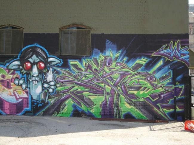 Piece By Saber, Persue - Los Angeles (CA)