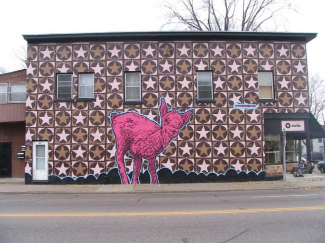 Street Art By Broken Crow - Minneapolis (MN)