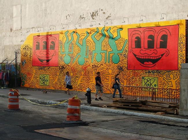 Street Art By Keith Haring - New York City (NY)