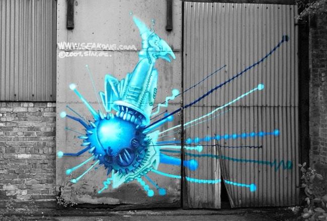 Street Art By Seak - Cologne (Germany)