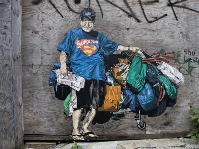 Street Art Par Specter - New York City (NY)