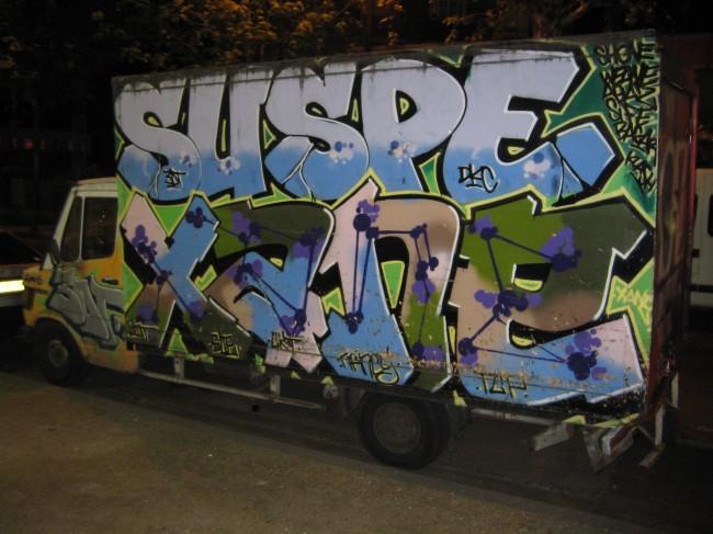 Piece Par Suspe, Xane - Paris (France)