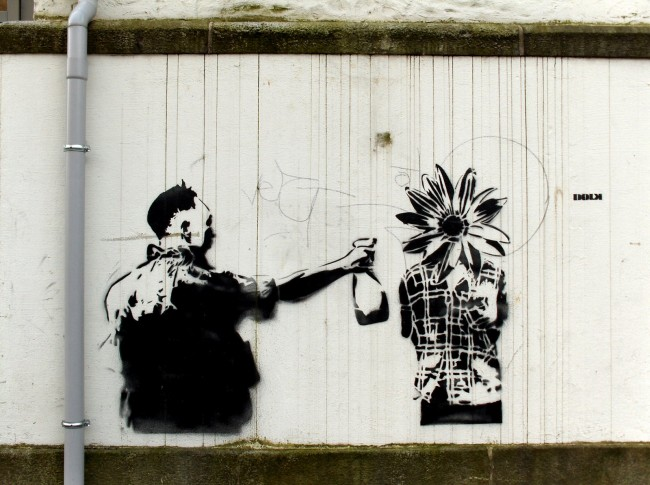 Street Art Par Dolk - Bergen (Norvege)