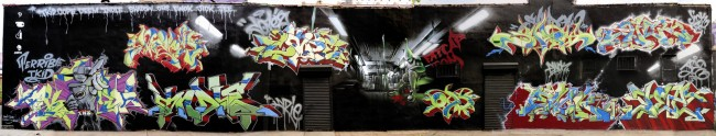 Big Walls By Cope2, Indie 184, Shadow, T-kid, Ewok, Oh, Deem, Jick, Jee - New York City (NY)