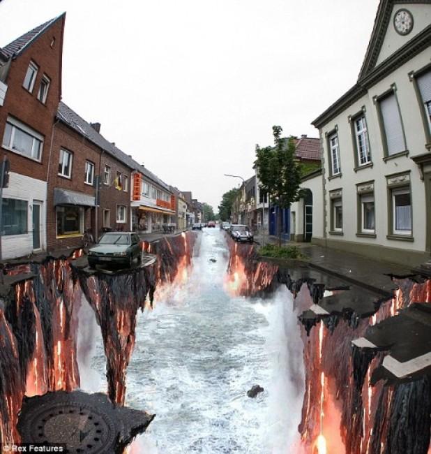 Street Art Par Edgar Mueller - Geldern (Allemagne)