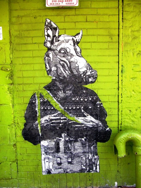 Street Art By Gaia - New York City (NY)