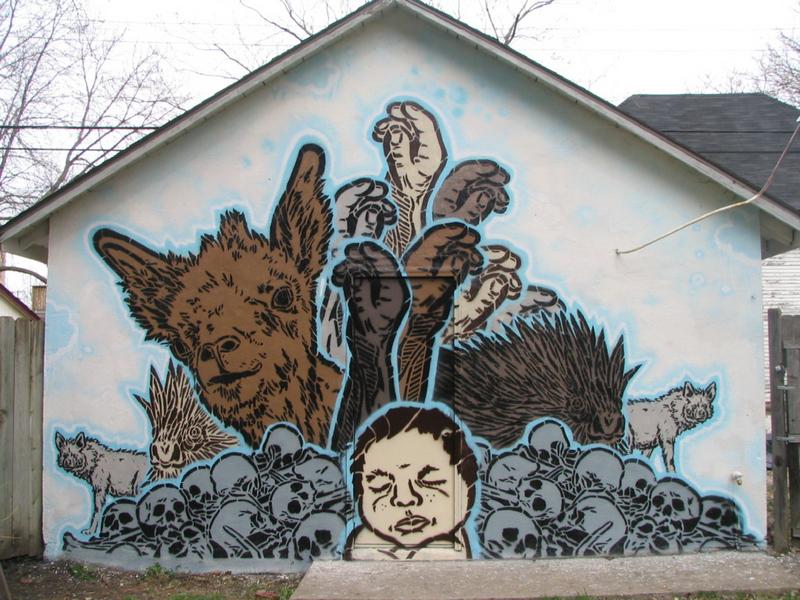 Big Walls By Broken Crow - Minneapolis (MN) - Street-art and ...
