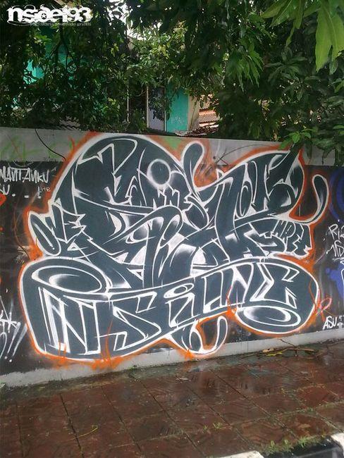 Street Art Par Nside193 - Yogyakarta (Indonesie)