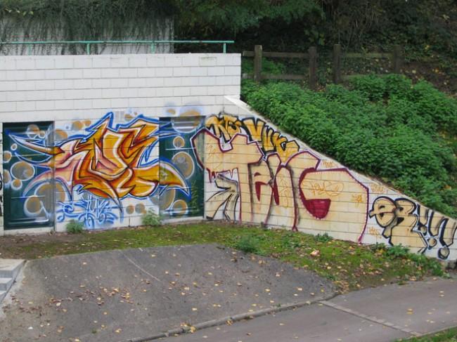 Street Art By Styk2, Teug - Tremblay-en-France (France)