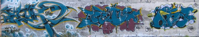 Piece By Hunz, Styk2, Opea - St.-Ouen (France)