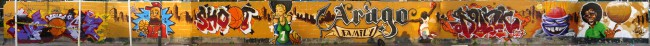 Big Walls By Sun.c, Hunz, Scred Glf, Styk2, Akony, Risc - St.-Ouen (France)