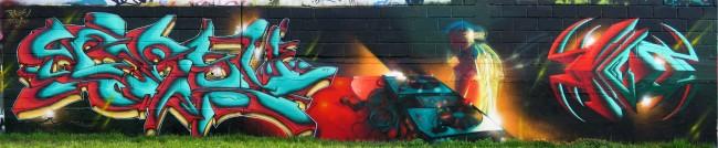 Big Walls By Persu, Yoda - Bobigny (France)