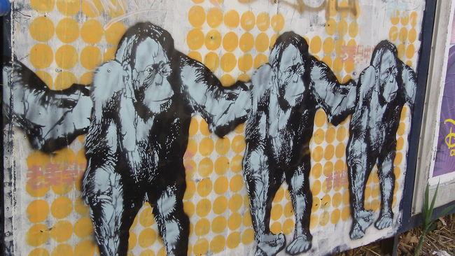 Street Art Par Fede - Buenos Aires (Argentine)