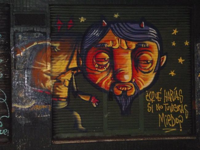 Street Art Par Ozmontania - Asuncion (Paraguay)