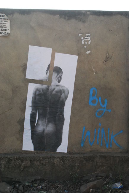 Street Art Par W!nk  - Pune (Inde)