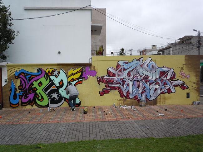 Piece Par Skipy, Maspaz - Quito (Equateur)