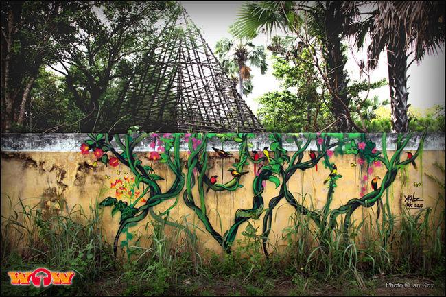 Fresques Par Xenz - Sere Kunda (Gambie)