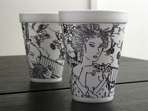 Coffee Cup Art News Street Art And Graffiti Fatcap