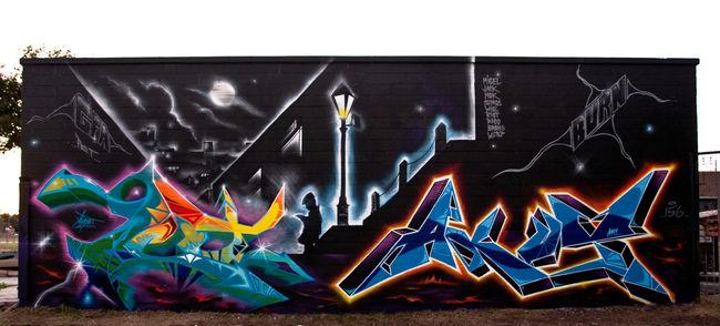 Fresques Par Akutone Berlin, Akut (gfa 156), Acud - Orlando (FL)