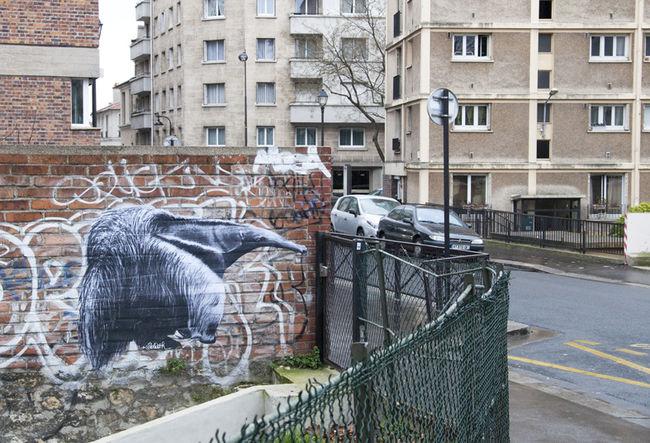Street Art Par Goliath - Paris (France)