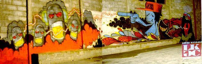 Fresques Par Mohawk - Ambarawa (Indonesie)
