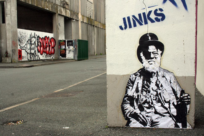 Street Art Par Jinks - Nantes (France)