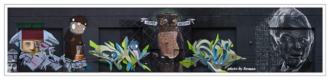 Fresques Par Ecb, Peeta, Over Under, Veng, Never3, Chris(rwk) - New York City (NY)