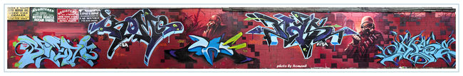 Fresques Par Shadow, Muse, Komo, Been3, Col, Nas-one - New York City (NY)