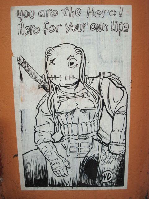 Street Art Par  Wd - Athenes (Grece)