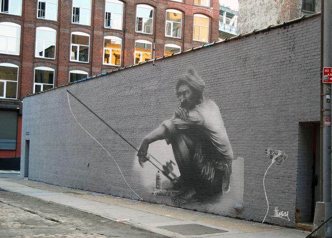 Street Art Par Husky Brown - Birmingham (Royaume Uni)