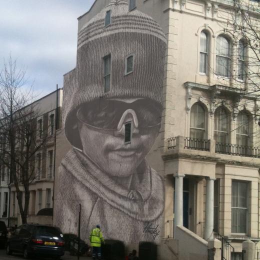 Fresques Par Husky Brown - Birmingham (Royaume Uni)