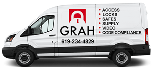 Image of Grah Security Mobile Locksmih Van - San Diego, CA