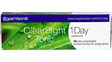 Clearsight 1 day for astigmatism 30 pack