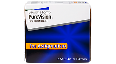 PureVision for Astigmatism 6 pack