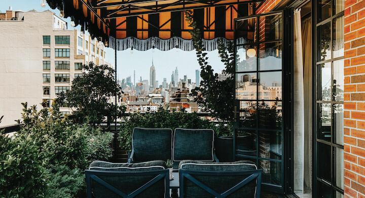 Soho terrace