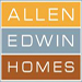 Website for Allen Edwin Homes