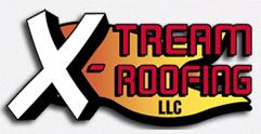 Website for X-TREAM Roofing, LLC