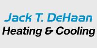 Website for Jack T. DeHaan Heating & Cooling, LLC