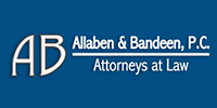 Website for Allaben & Bandeen, Attorneys at Law