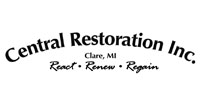 Website for Central Restoration, Inc.
