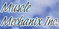 Website for Muscle Mechanix, Inc.
