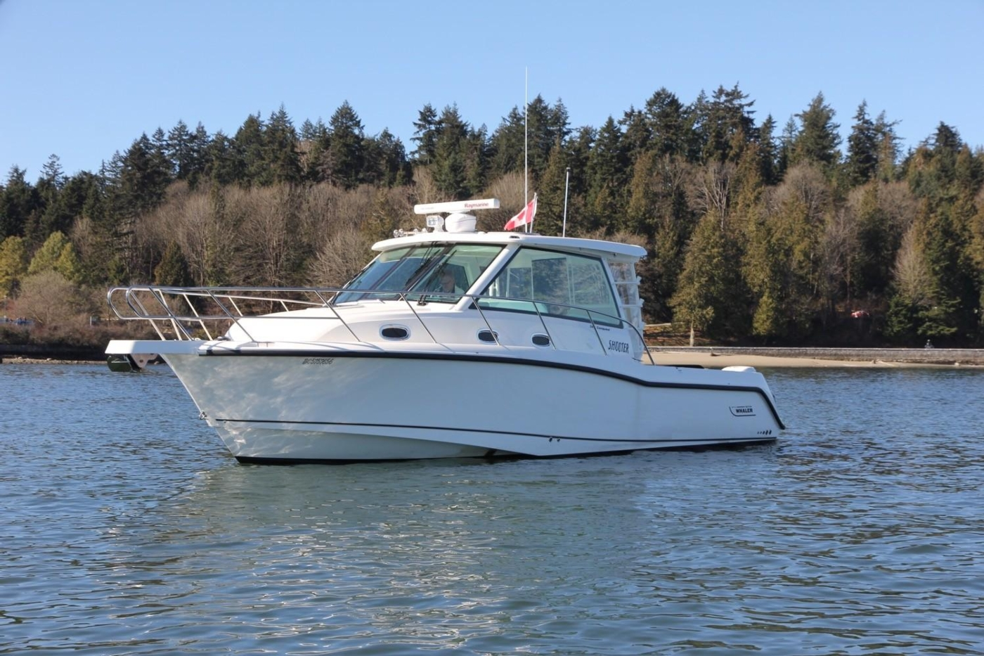 2017 Boston Whaler 345 Conquest, Port View