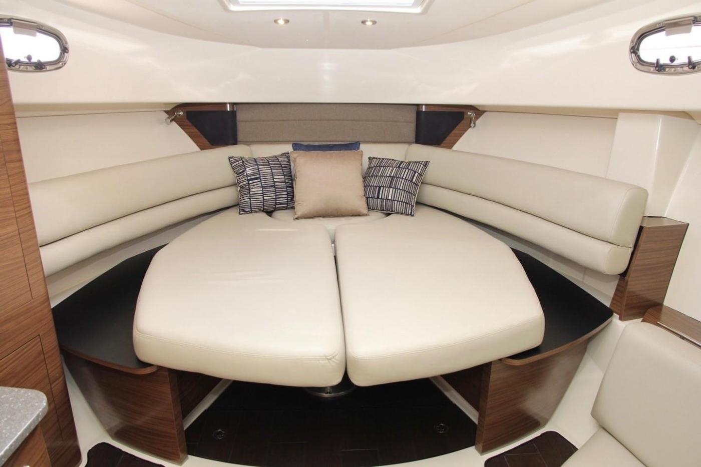 2017 Boston Whaler 345 Conquest, Forward Berth