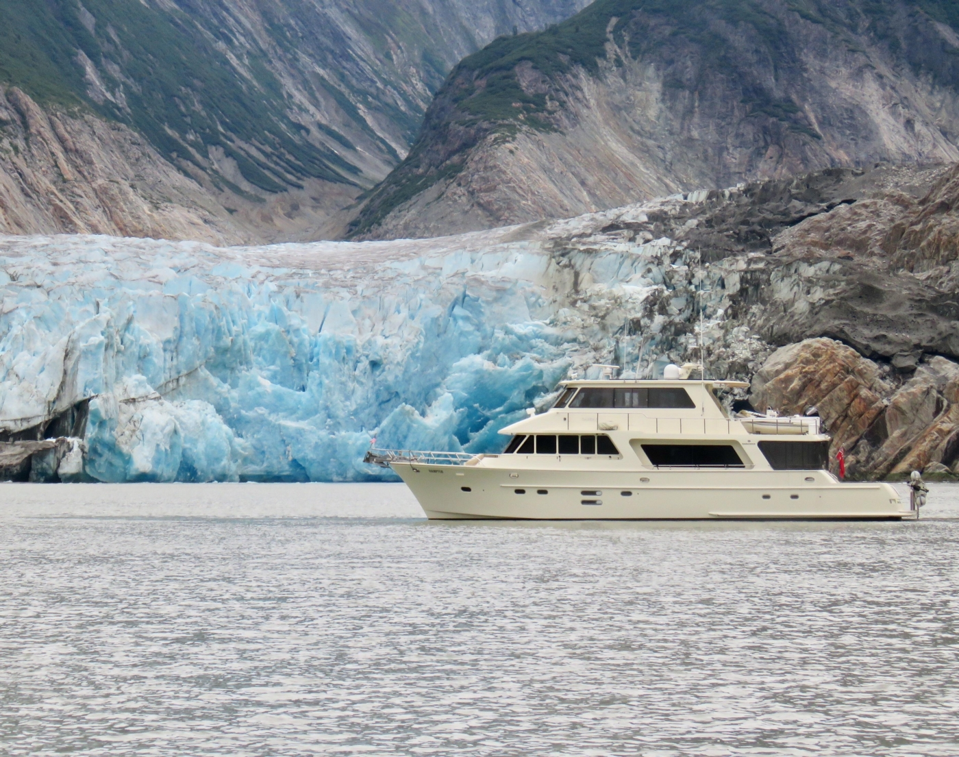 2011 Hampton 75 Endurance LRC, Tracy Arm, Alaska July 2019