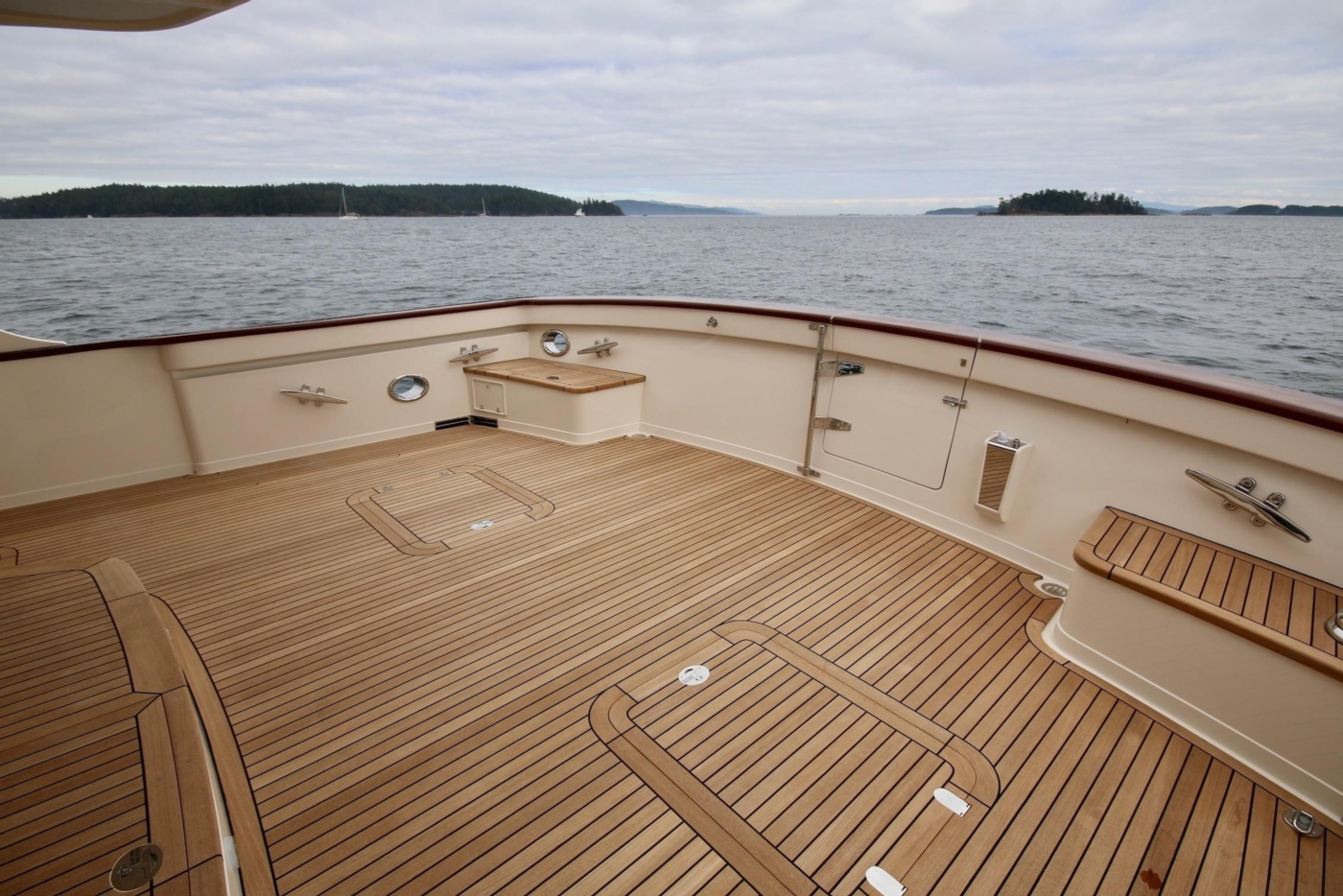 2020 Fleming 65 Pilothouse In Stock, Cockpit