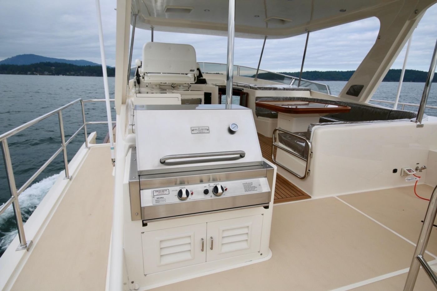 2020 Fleming 65 Pilothouse In Stock, BBQ